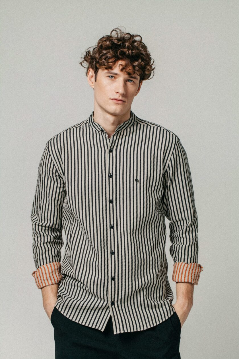 Striped Mímir shirt