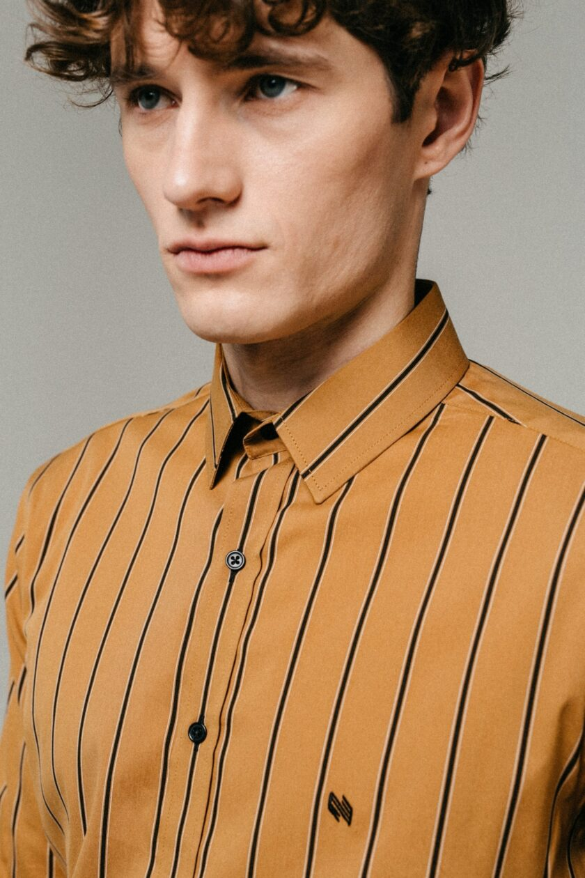 Striped ÓÐINN Shirt