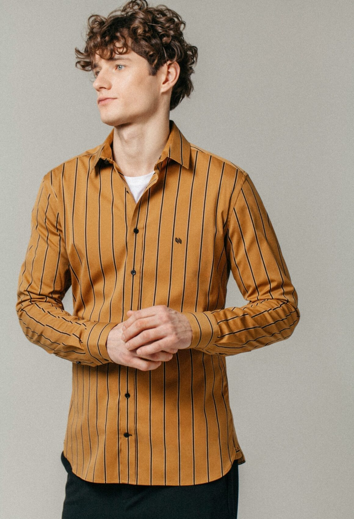 Striped ÓÐINN Shirt