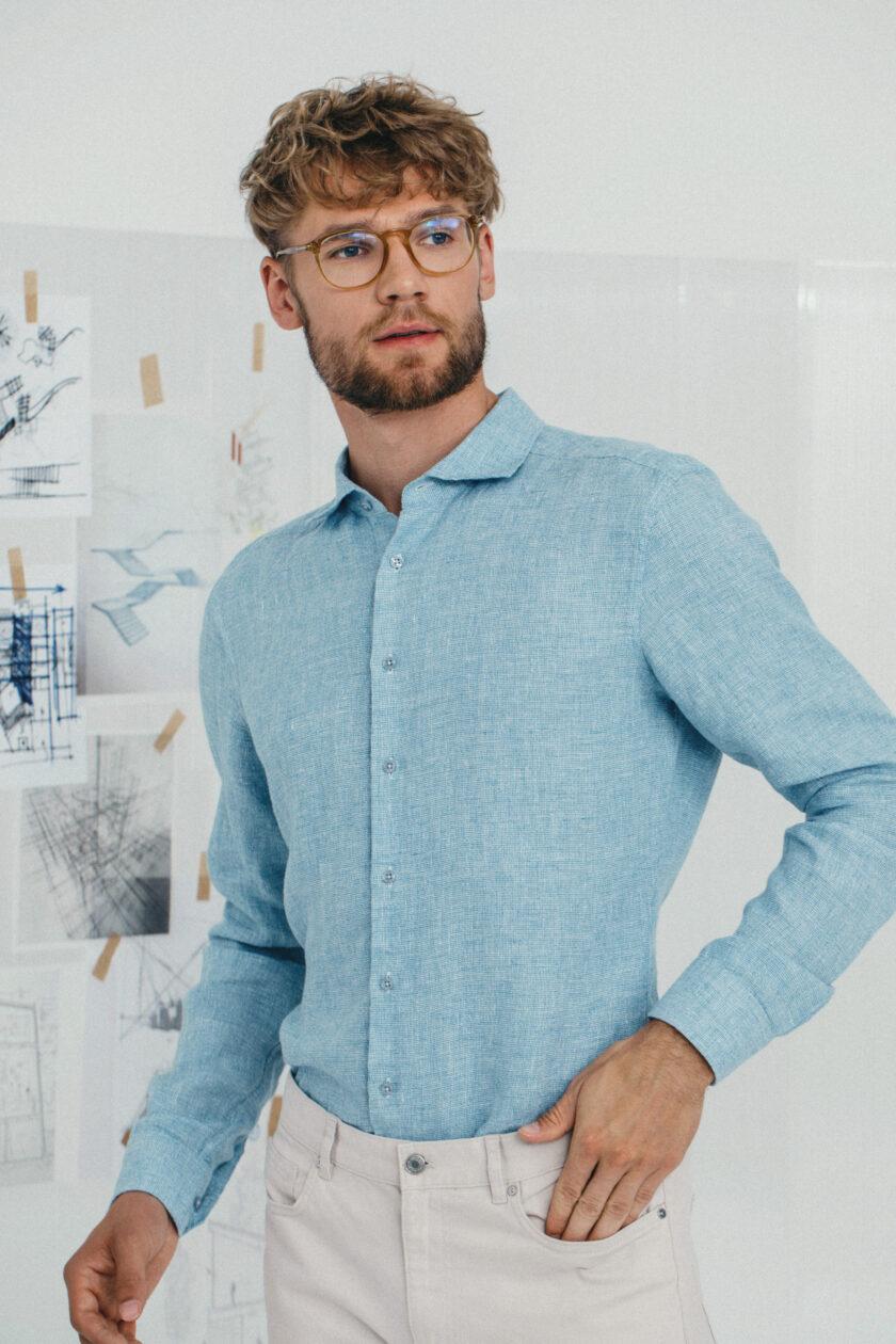 Light Blue Kvistur Shirt