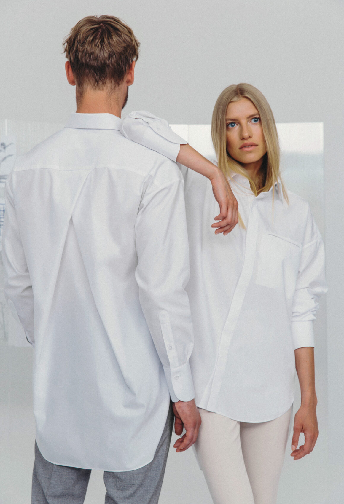 White Hvelfing Shirt