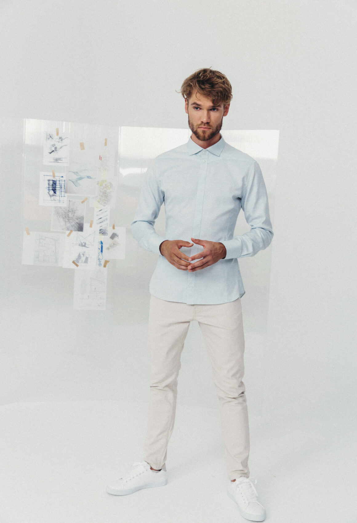 Light Blue Harpa Shirt