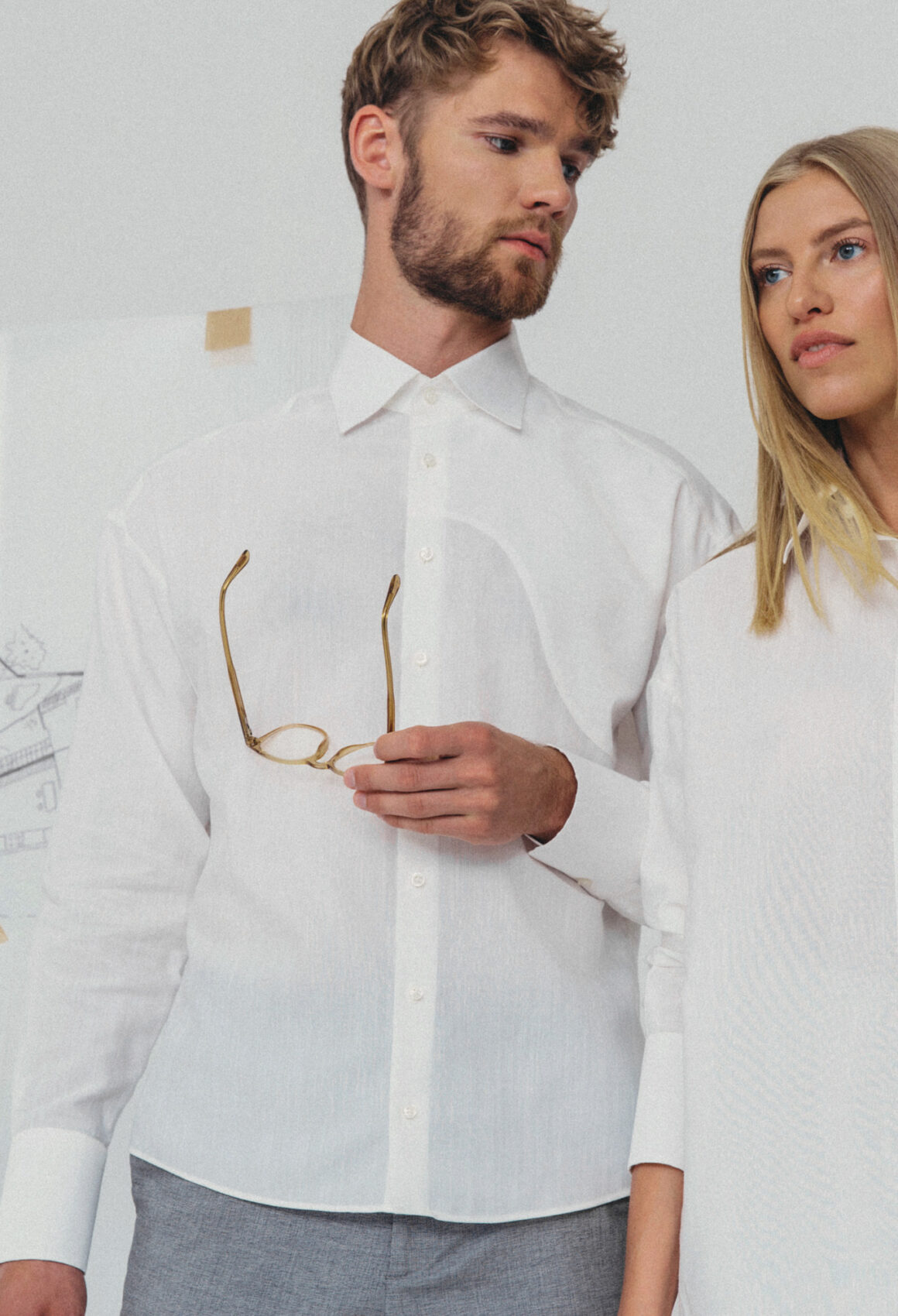 White Perlan Shirt