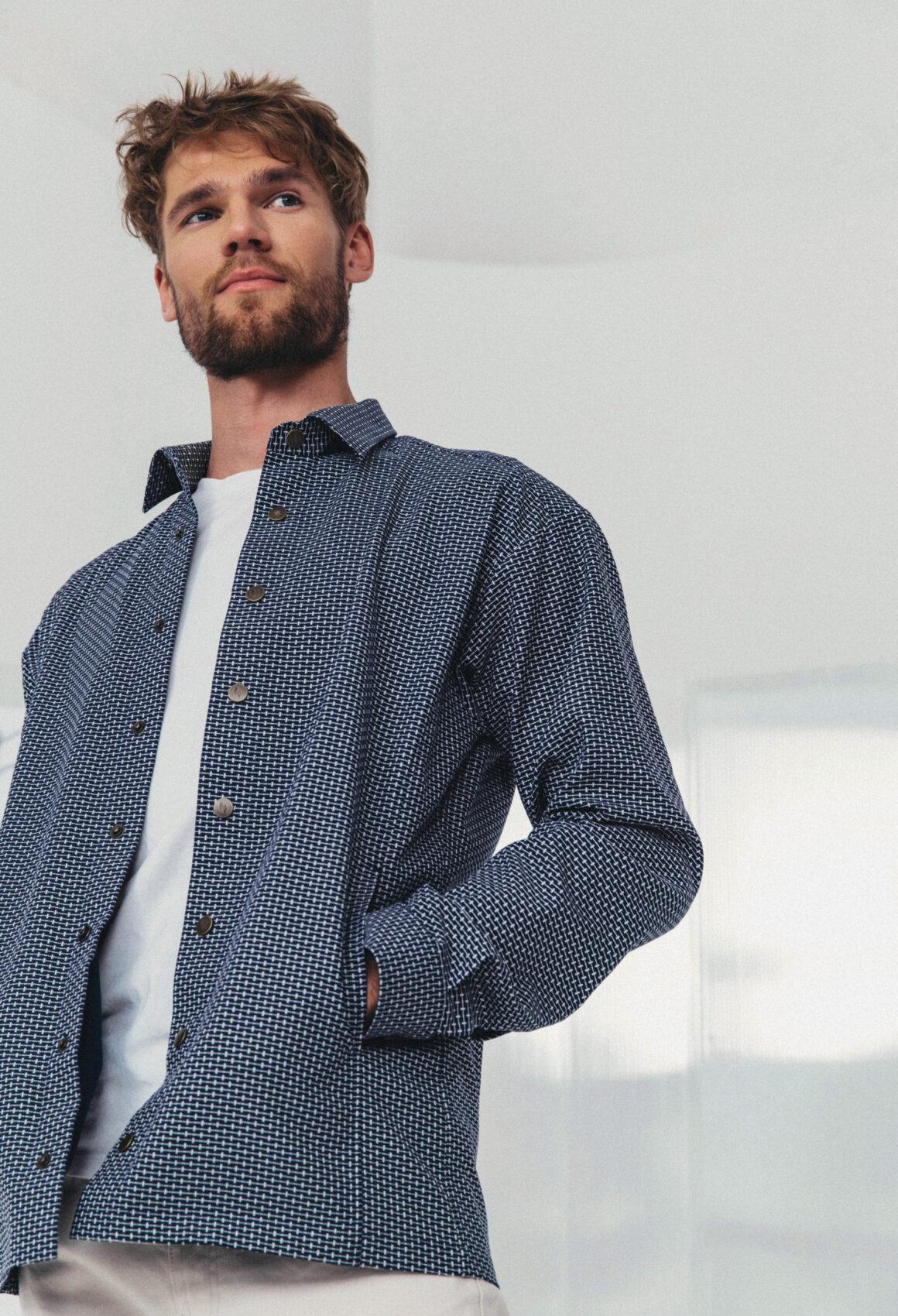 Dark Blue Anddyri Jacket