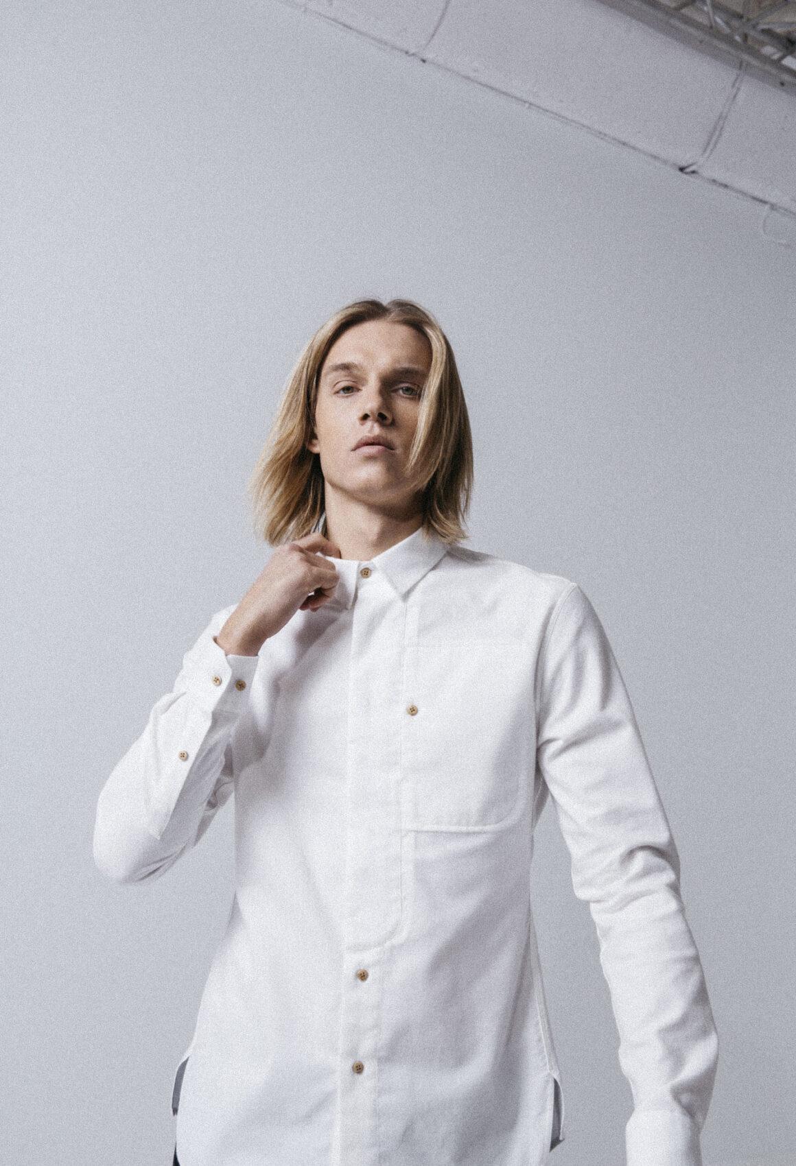 White Gullfoss Shirt