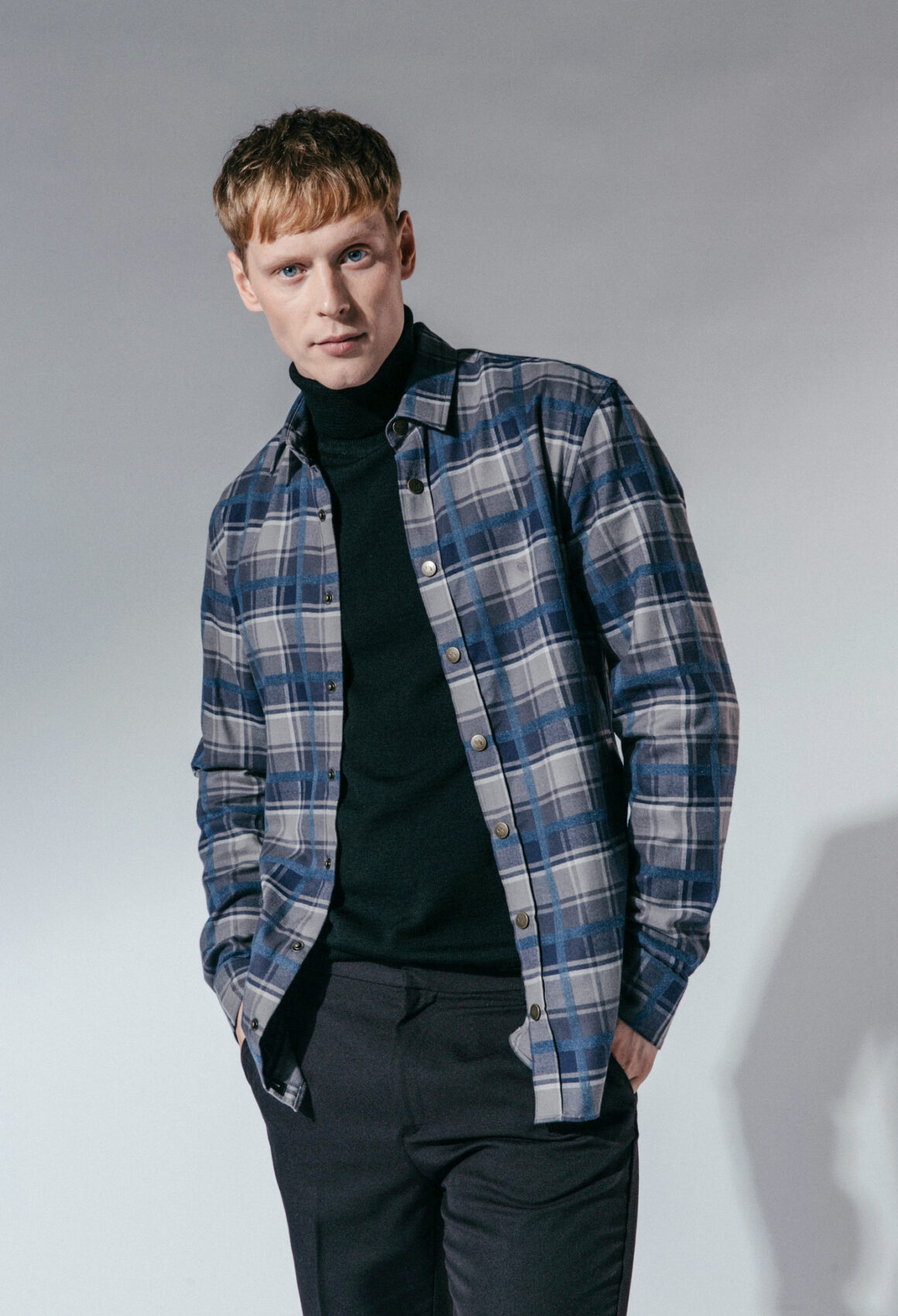 Checked Seltún Shirt