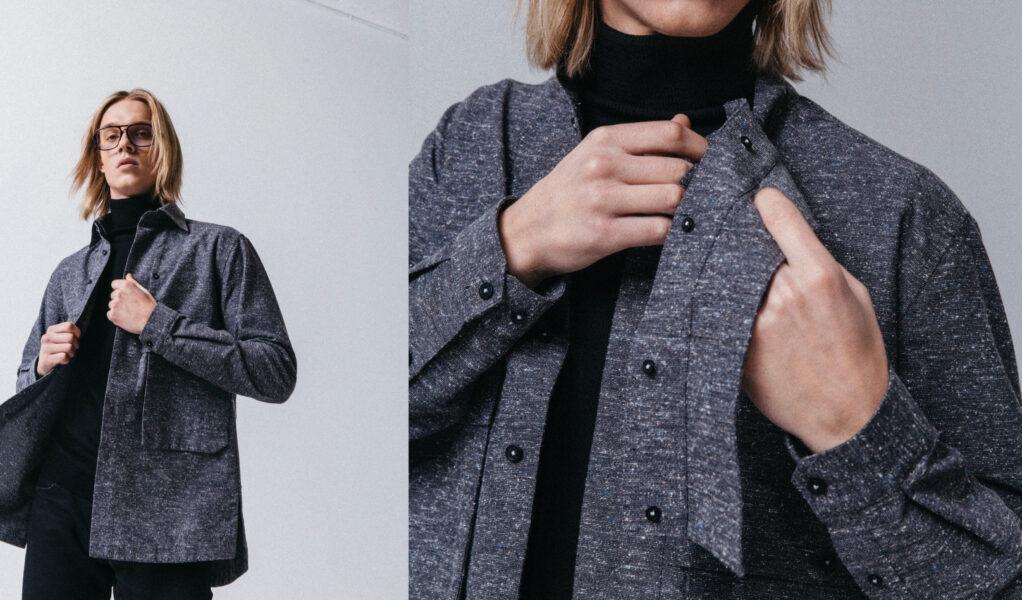 Anchor grey Namaskard jacket