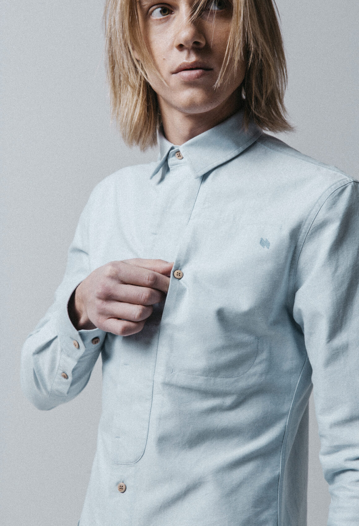 Light Blue Gullfoss Shirt