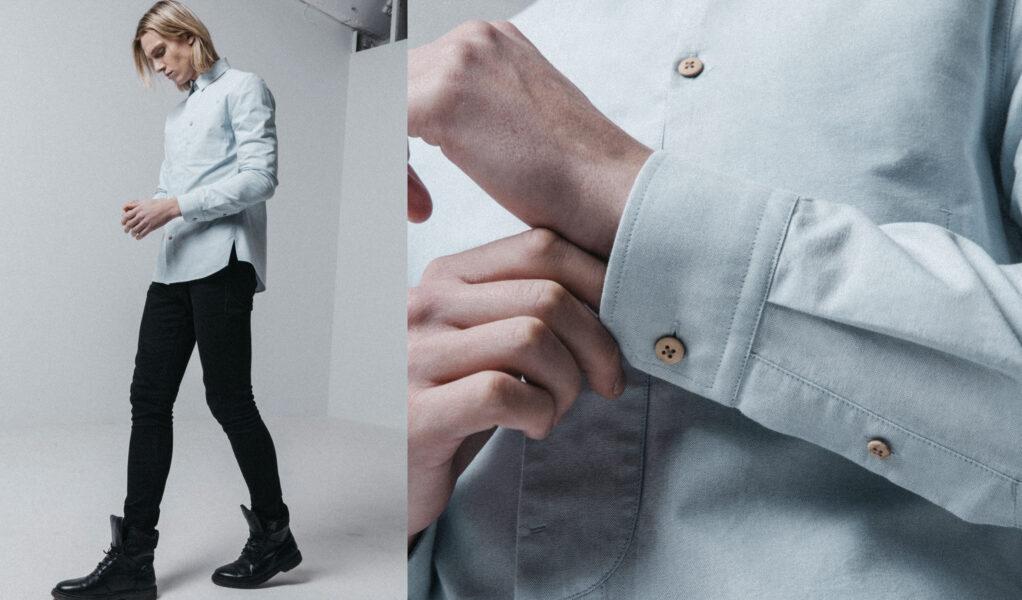 Light Blue Gullfoss Shirt