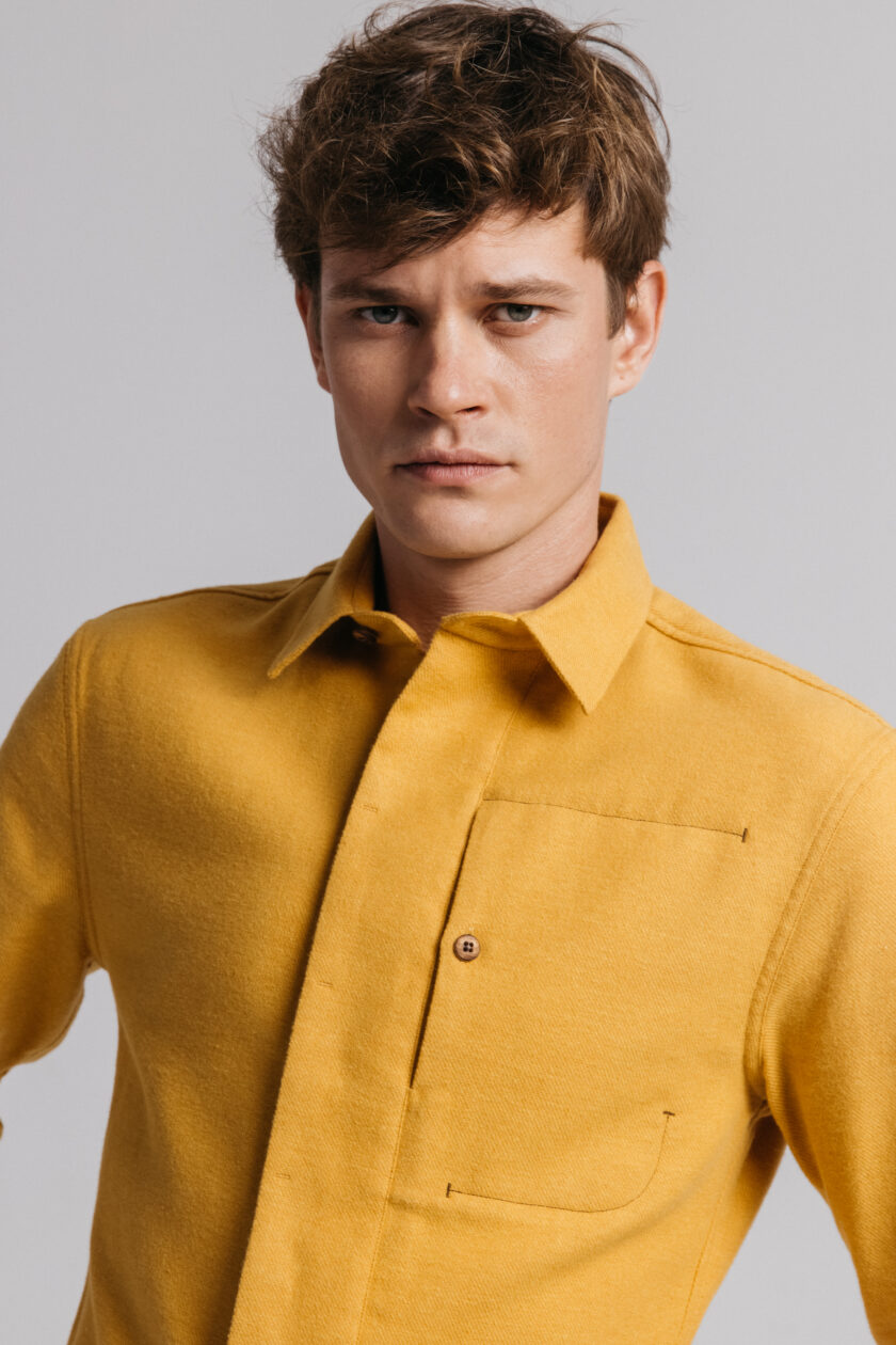 Mustard Gullfoss Shirt